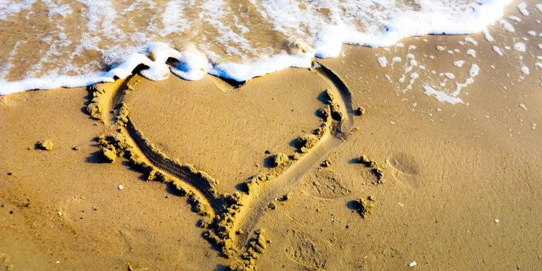 verliebt am Meer